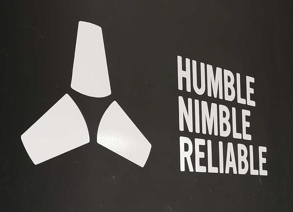 Humble, Nimble, Reliable