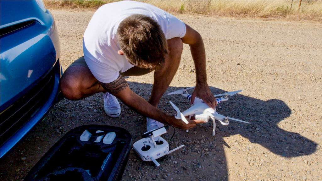 Phantom 3 Pro is perfect for drone inspections