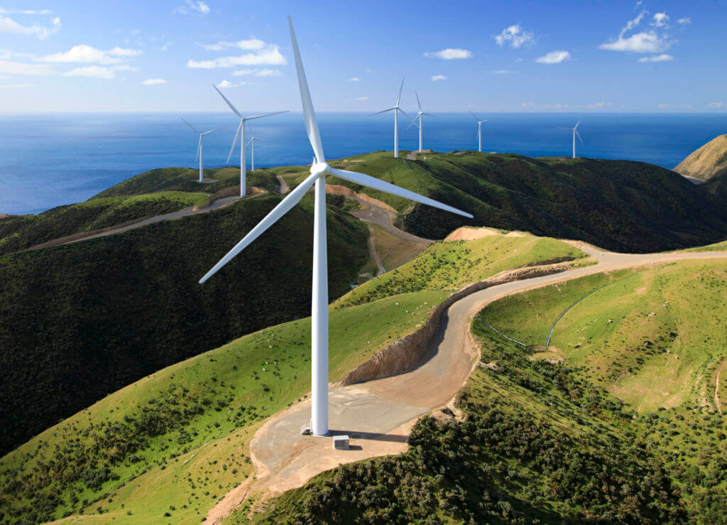 Photographing and filming wind turbines is another excellent use case for drone inspections.