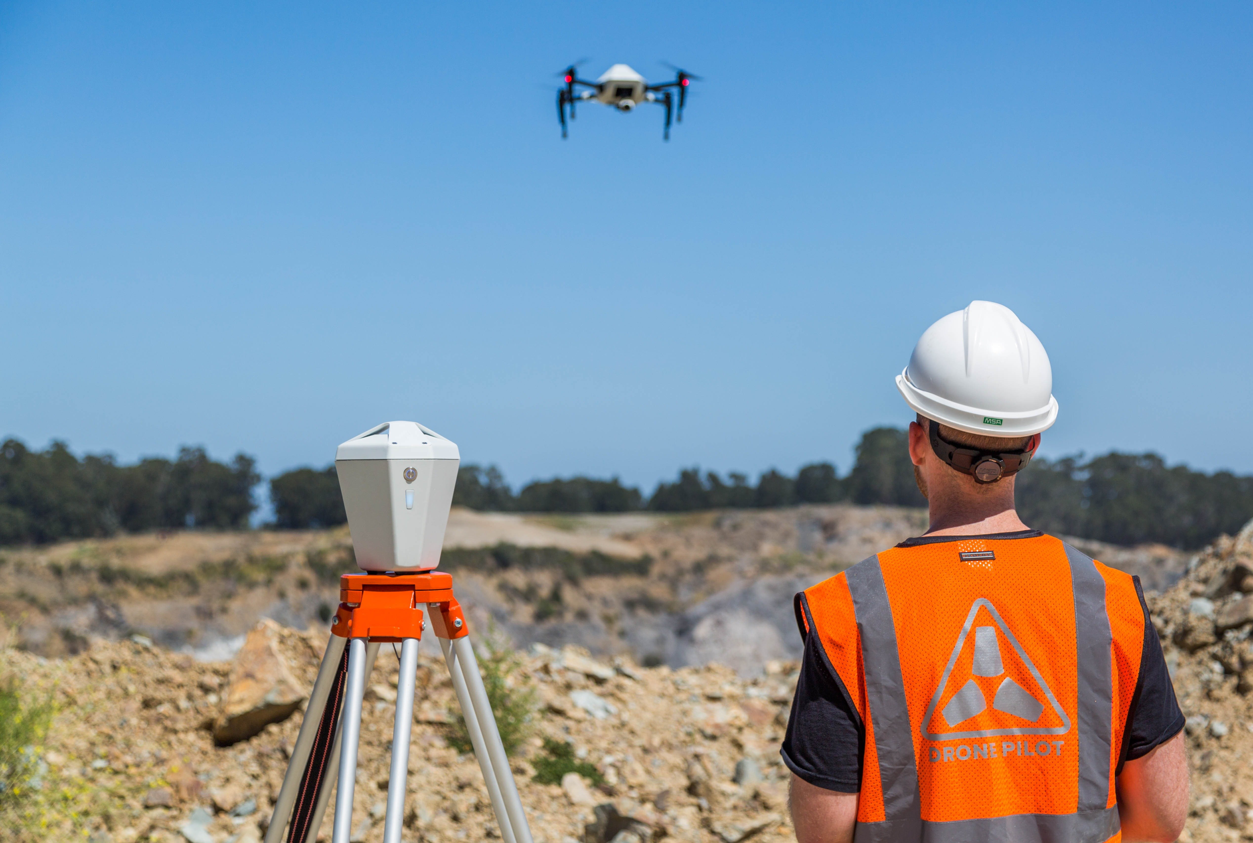 Using the Skycatch Edge1 Smart Base Station and Explore1 Drone