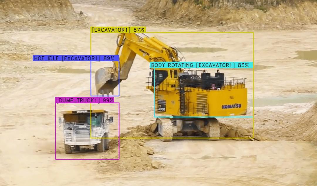 Komatsu Equipment and Skycatch AI