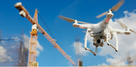 RAWview mapping and surveying at construction sites with DJI P4RTK is processed on Skycatch Data Hub