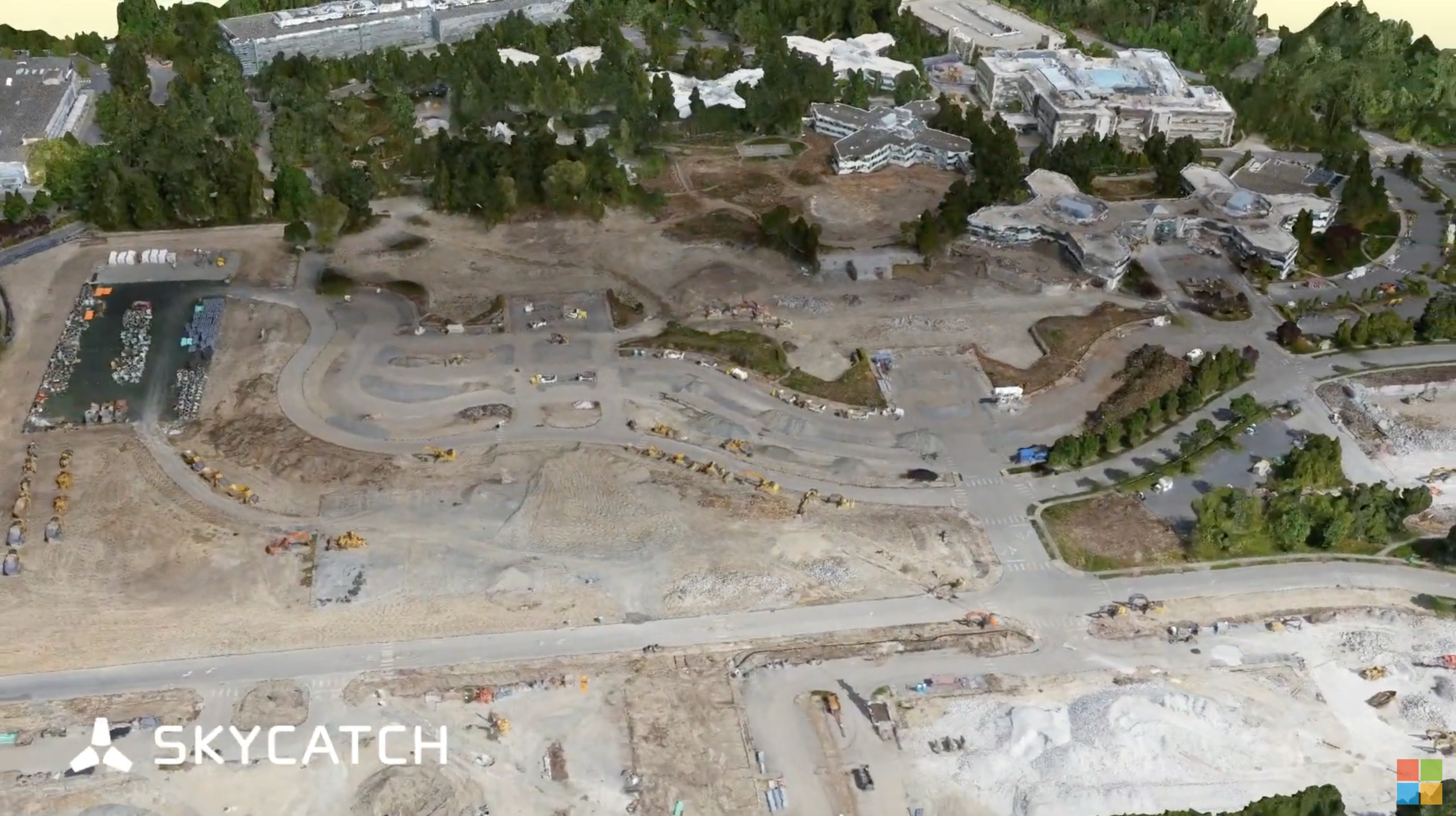Skycatch 3D data of Microsoft Campus