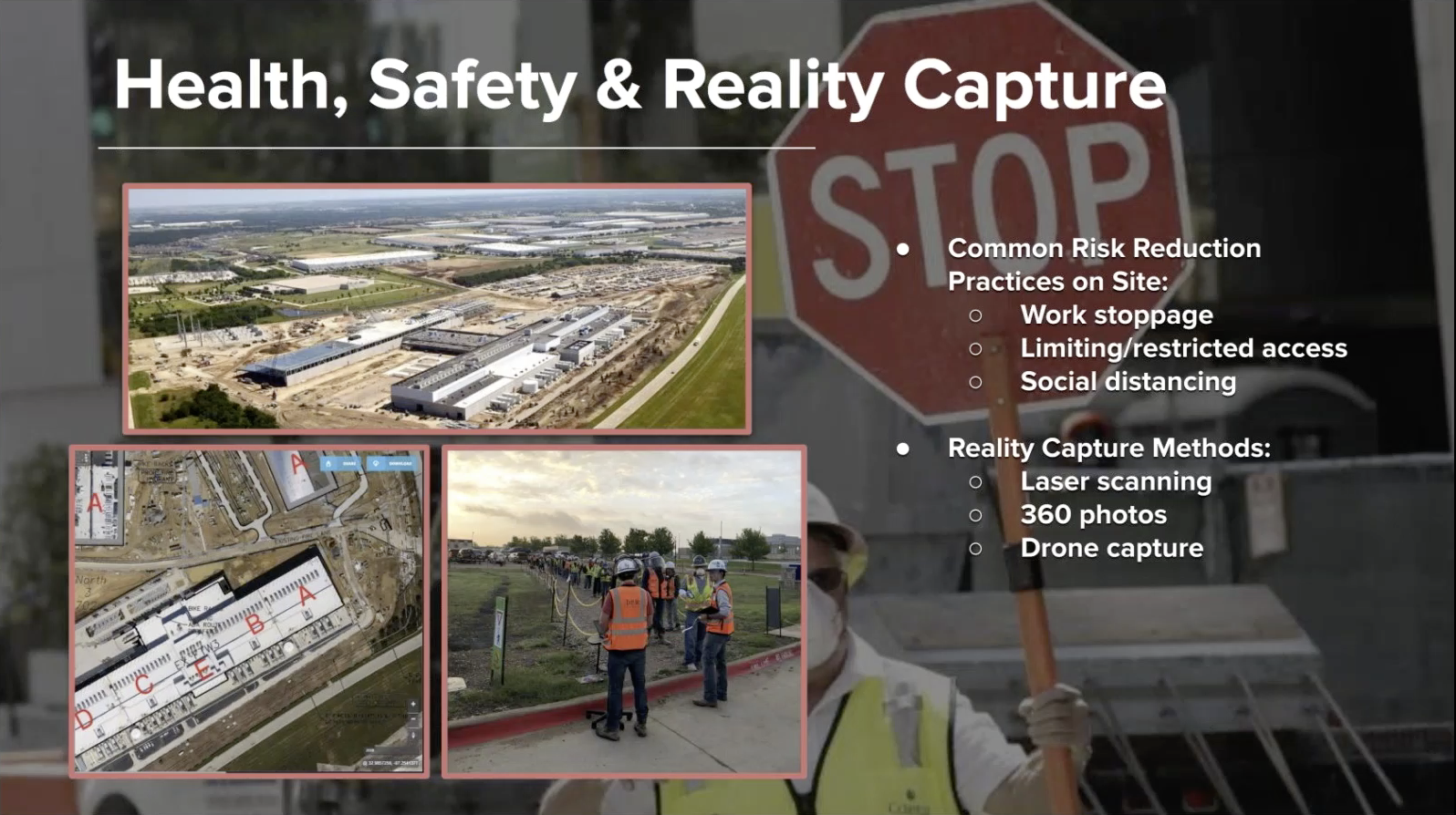 Health, Safety, and Reality Capture